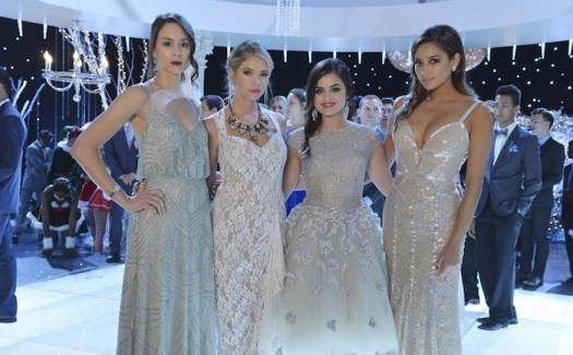 Troian Bellisario, Ashley Benson, Lucy Hale, Shay Mitchell in 'Pretty Little Liars' - ABC Family, Eric McCandless)