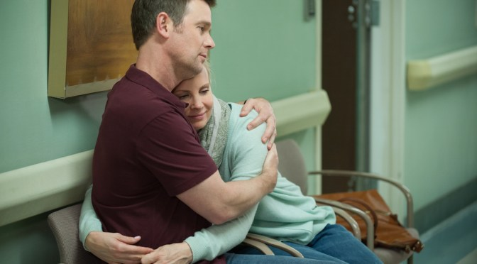 """VIDEO: Monica Potter & Peter Krause On Favorite """"Parenthood"""" Moments"""