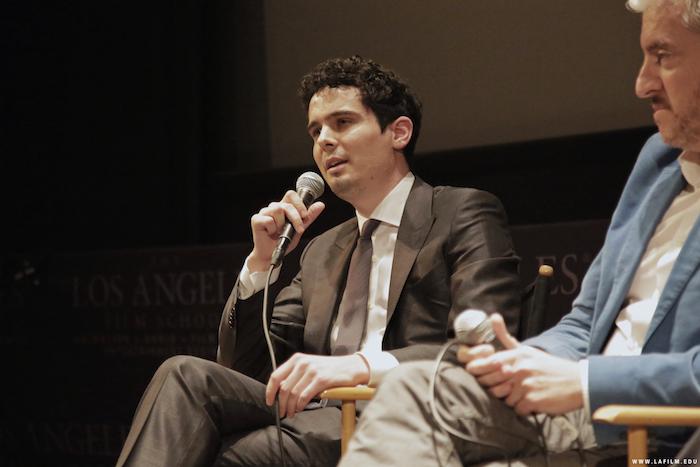 "Damien Chazelle, Writer/Director of ""Whiplash"" (Credit: The Los Angeles Film School)"