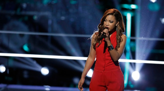 """Exclusive: India Carney Lives For """"The Voice"""" Collaborations"""