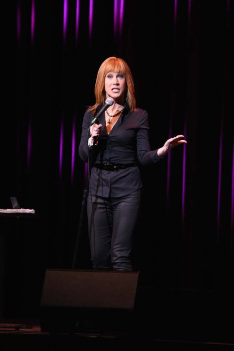 Kathy Griffin performs at the Borgata Hotel Casino & Spa.