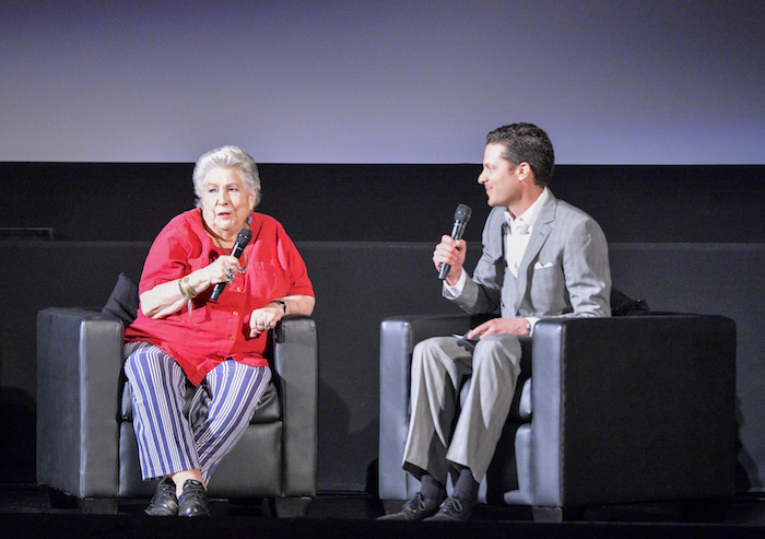 eremy Arnold and Anne V. Coates at The El Capitan Theatre on Friday 2015 TCM Classic Film Festival In Hollywood, California.  3/27/15 PH: Edward M. Pio Roda