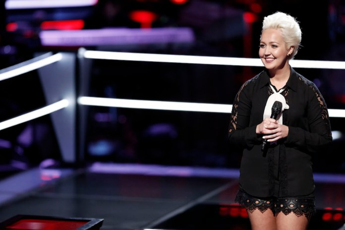 """Exclusive: Meghan Linsey Carves New Path On """"The Voice"""""""