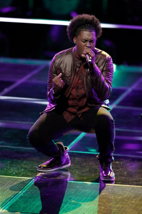 "THE VOICE -- ""Battle Rounds"" -- Pictured: Rob Taylor -- (Photo by: Tyler Golden/NBC)"