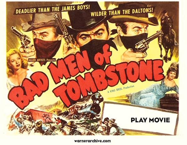 Bad Men at Tombstone - Warner Archive