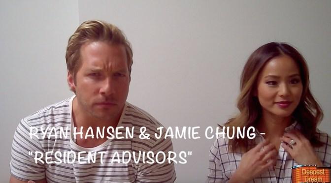 "Exclusive: Ryan Hansen & Jamie Chung Talk ""Resident Advisors"""