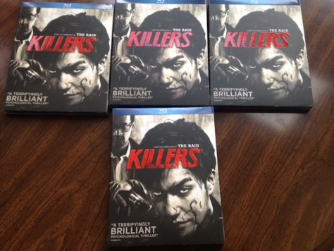 "Giveaway: Enter to Win a ""KILLERS"" Blu-Ray From Well Go USA Entertainment"
