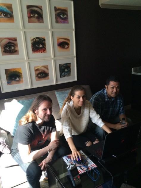 NeoCore Games narrative Designer Viktor Juhász and CCO Linda Bozoradi