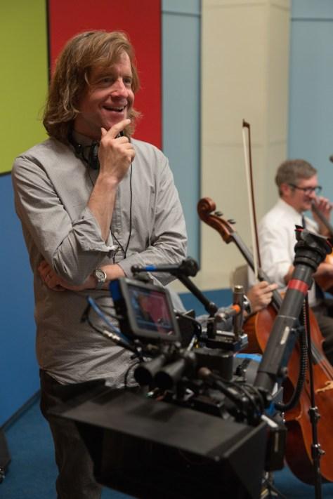 Bill Pohlad on the set of LOVE & MERCY. Photo credit: Francois Duhamel