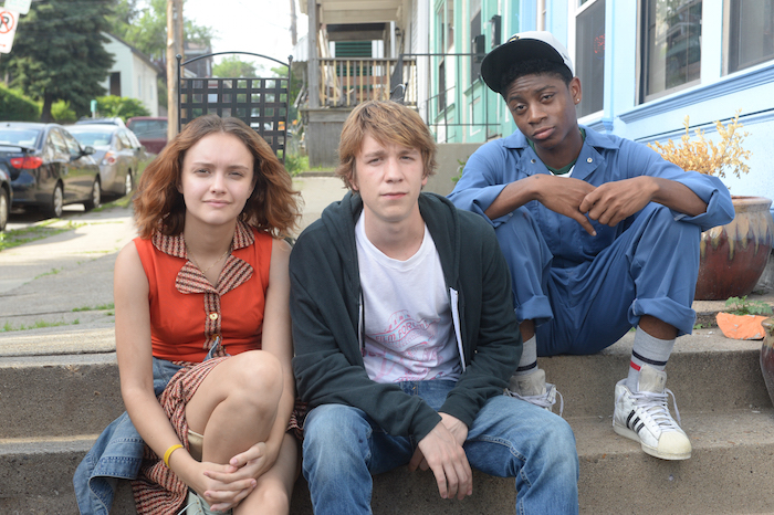 "Olivia Cooke, Thomas Mann, and RJ Cyler in ""Me and Earl and the Dying Girl"""