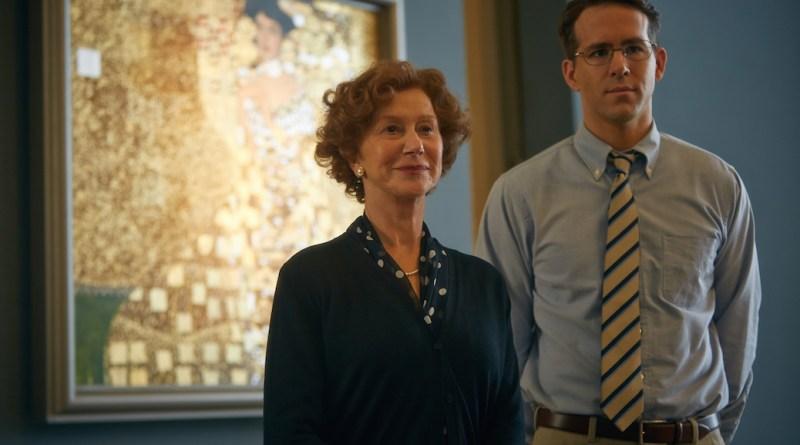 (L-R) HELEN MIRREN and RYAN REYNOLDS star in WOMAN IN GOLD