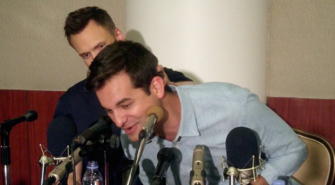 "Michael Kosta ""Comments"" On  Joel McHale: ""He's A Terrible Boss"""
