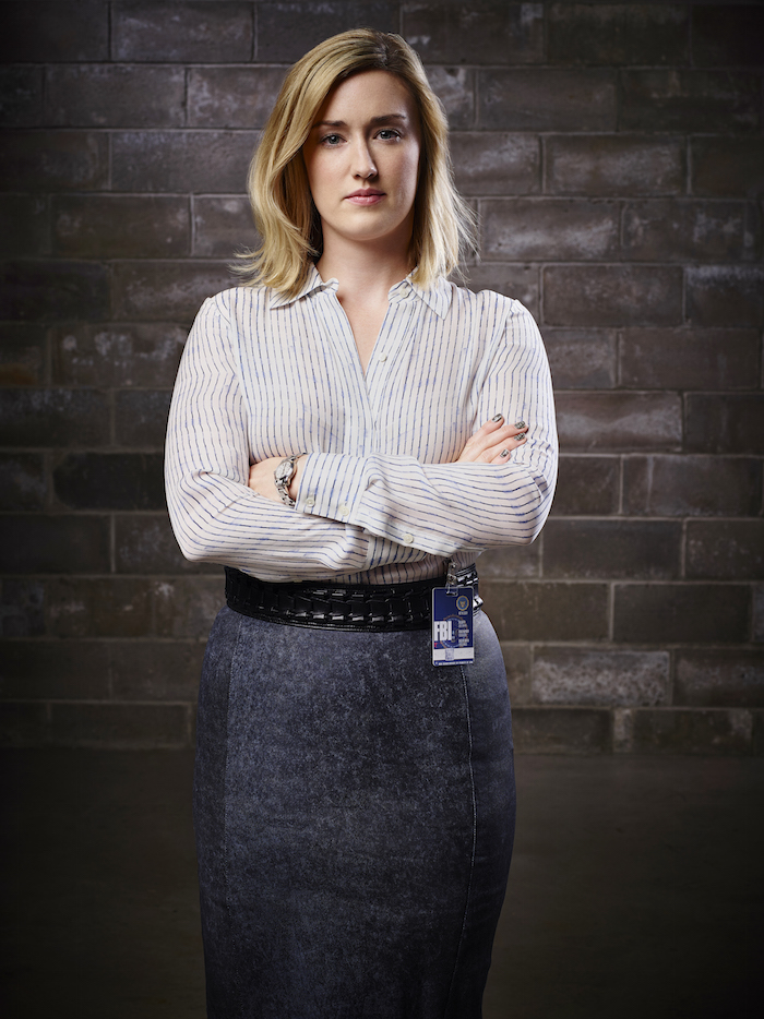 BLINDSPOT -- Season: Pilot -- Pictured: Ashley Johnson as Patterson -- (Photo by: Sandro/NBC)