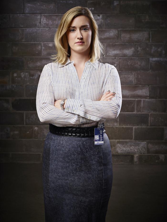 BLINDSPOT -- Season: Pilot -- Pictured: Ashley Johnson as Patterson -- (Photo by: Sandro/NBC)