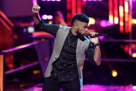 "THE VOICE -- ""Battle Rounds"" -- Pictured: Mark Hood -- (Photo by: Tyler Golden/NBC)"