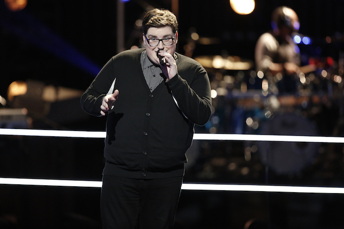 "THE VOICE -- ""Battle Rounds"" -- Pictured: Jordan Smith -- (Photo by: Tyler Golden/NBC)"