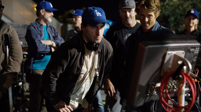 Director BILLY RAY (center) on the set of SECRET IN THEIR EYES.