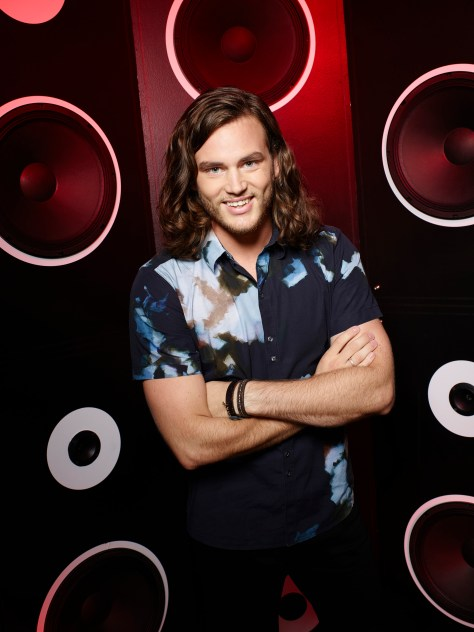 THE VOICE -- Season: 9 -- Pictured: Blaine Mitchell -- (Photo by: Chris Haston/NBC)