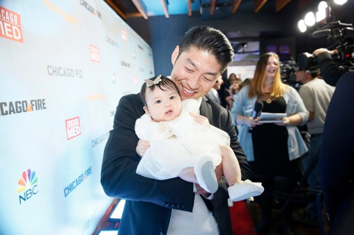 """NBCUNIVERSAL EVENTS -- """"NBC Chicago Celebration Party"""" -- Pictured: Brian Tee, """"Chicago Med"""" at STK Chicago on November 9, 2015 -- (Photo by: Elizabeth Sisson/NBC)"""