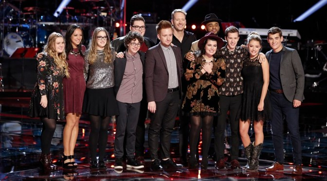 The Voice Top 12: The Rankings