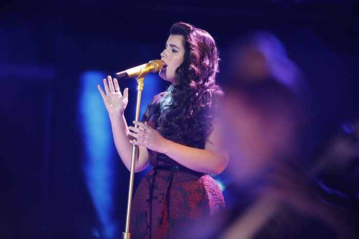 "THE VOICE -- ""Live Top 10"" -- Pictured: Madi Davis -- (Photo by: Trae Patton/NBC)"