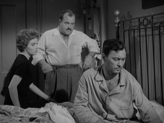 Polly Bergen, William Conrad, and Barry Sullivan in 'Cry of the Hunted' (Warner Archive Collection)