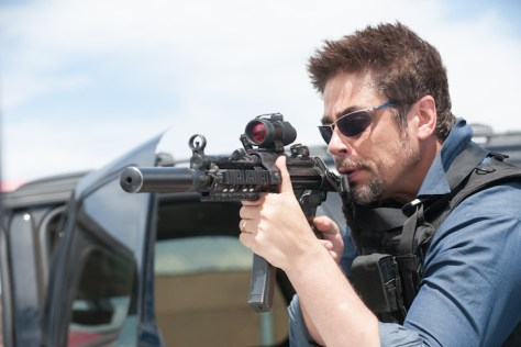 "Benicio Del Toro stars as 'Alejandro"" in SICARIO. Photo Credit: Richard Foreman Jr. SMPSP"