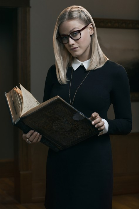 THE MAGICIANS -- Season:1 -- Pictured: Olivia Taylor Dudley as Alice -- (Photo by: Rodolfo Martinez/Syfy)