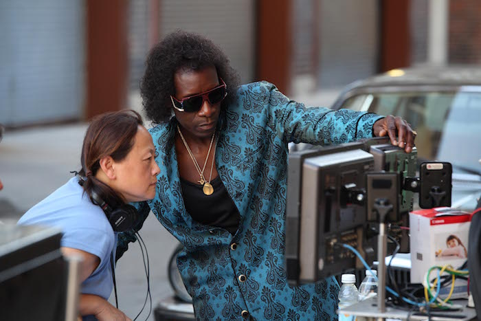 Script Supervisor Belle Francisco and Director/Actor Don Cheadle Photo by Brian Douglas, Courtesy of Sony Pictures Classics