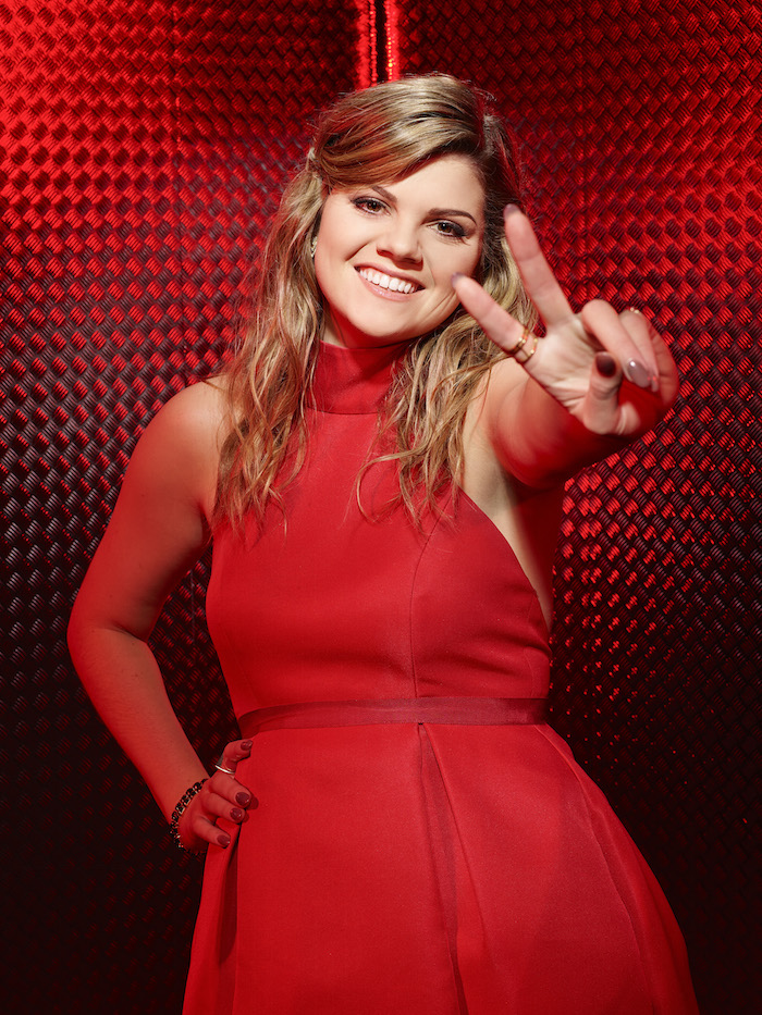 THE VOICE -- Season: 10 -- Pictured: Caity Peters -- (Photo by: Chris Haston/NBC)