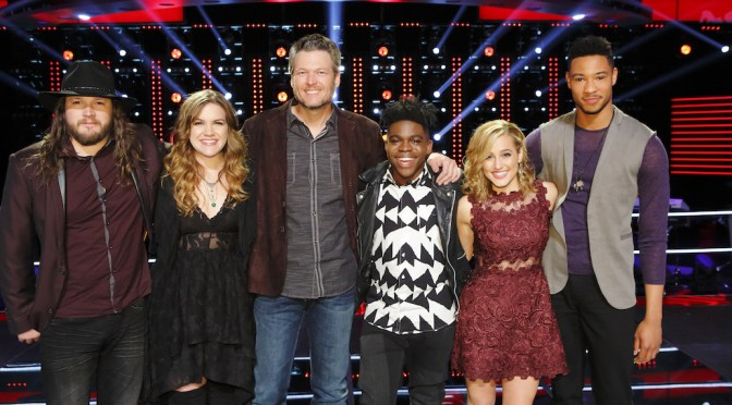 'The Voice' Pre-Live Show Rankings