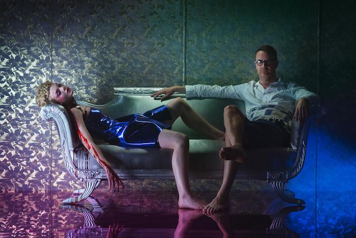 Elle Fanning & director Nicolas Winding Refn - 'The Neon Demon' (Broad Green Pictures)