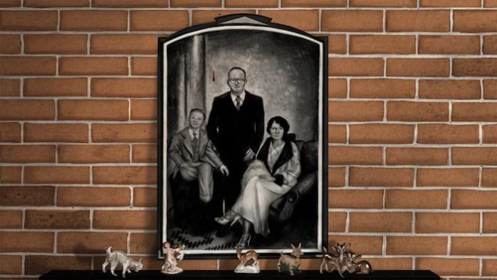 Brinkley family portrait. Animation Still. Artist: Hazel Lee Santino