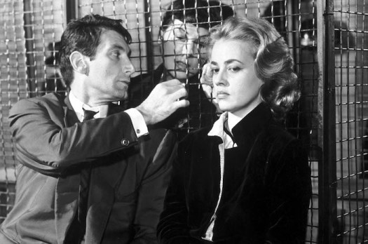 Félix Marten and Jeanne Moreau in Lous Malle's ELEVATOR TO THE GALLOWS (1958). Courtesy: Rialto Pictures