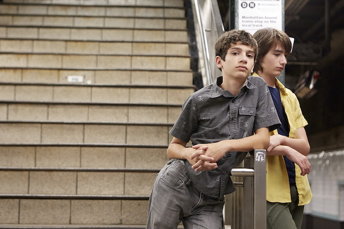 Michael Barbieri and Theo Taplitz in LITTLE MEN, a Magnolia Pictures release. Photo courtesy of Magnolia Pictures.