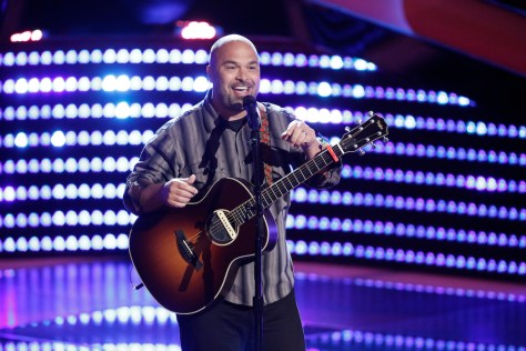 "THE VOICE -- ""Blind Auditions"" -- Pictured: Blaine Long -- (Photo by: Tyler Golden/NBC)"