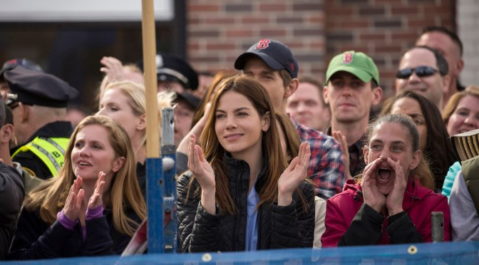 "Michelle Monaghan Talks 'Patriots Day' Experience & ""Boston Strong"""