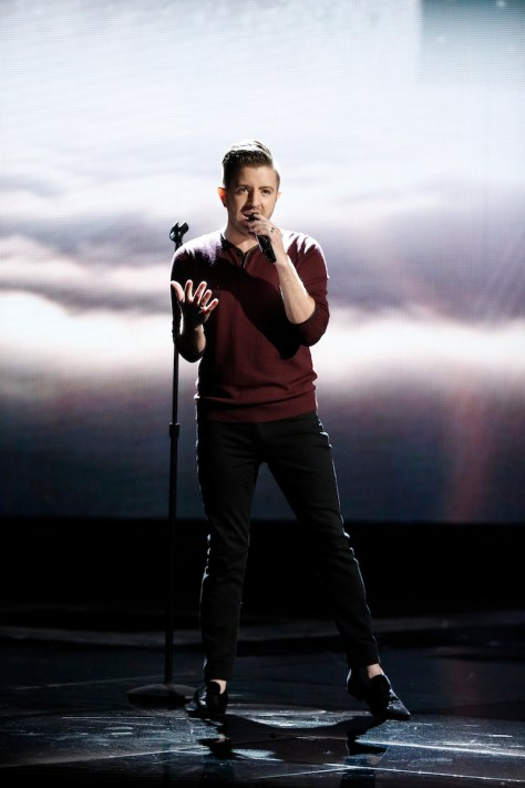 """THE VOICE -- """"Live Finale"""" -- Pictured: Billy Gilman -- (Photo by: Tyler Golden/NBC)"""