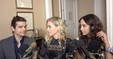 """Jason Ralph, Olivia Taylor Dudley, and Stella Maeve - """"The Magicians"""""""