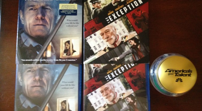 CinemAddicts Giveaway: 'America's Got Talent' Buzzer, 'The Exception' 'Wakefield' Blu-rays