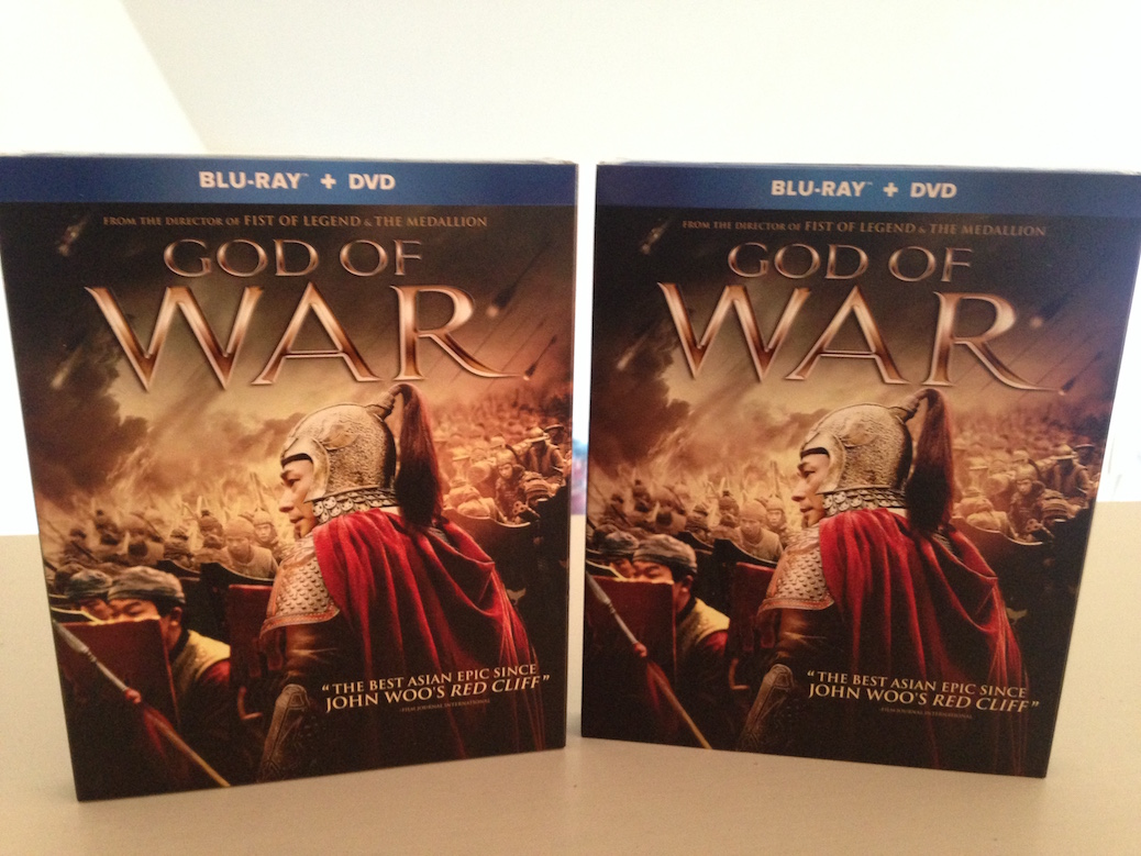 'God of War' Blu-Ray Giveaway From CinemAddicts