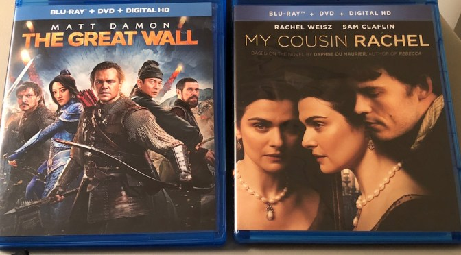 'My Cousin Rachel' and 'The Great Wall' Blu-Ray Giveaway From CinemAddicts!