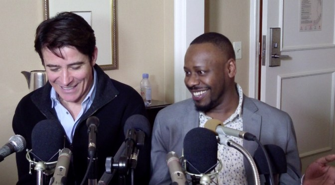 Goran Visnjic & Malcolm Barrett Impressed With 'Timeless' Storytelling