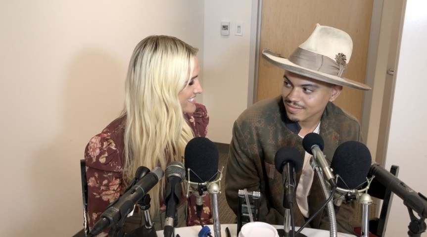 VIDEO: Ashlee Simpson-Ross And Evan Ross Discuss Artistic Passions