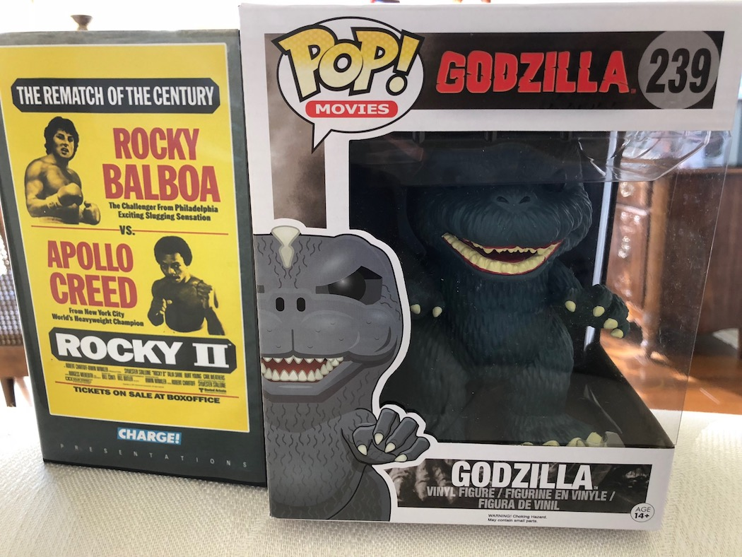 Godzilla Funko Pop, 'Rocky II' Cover And 'Space: 1999' Shirt Giveaway From Comet TV!!