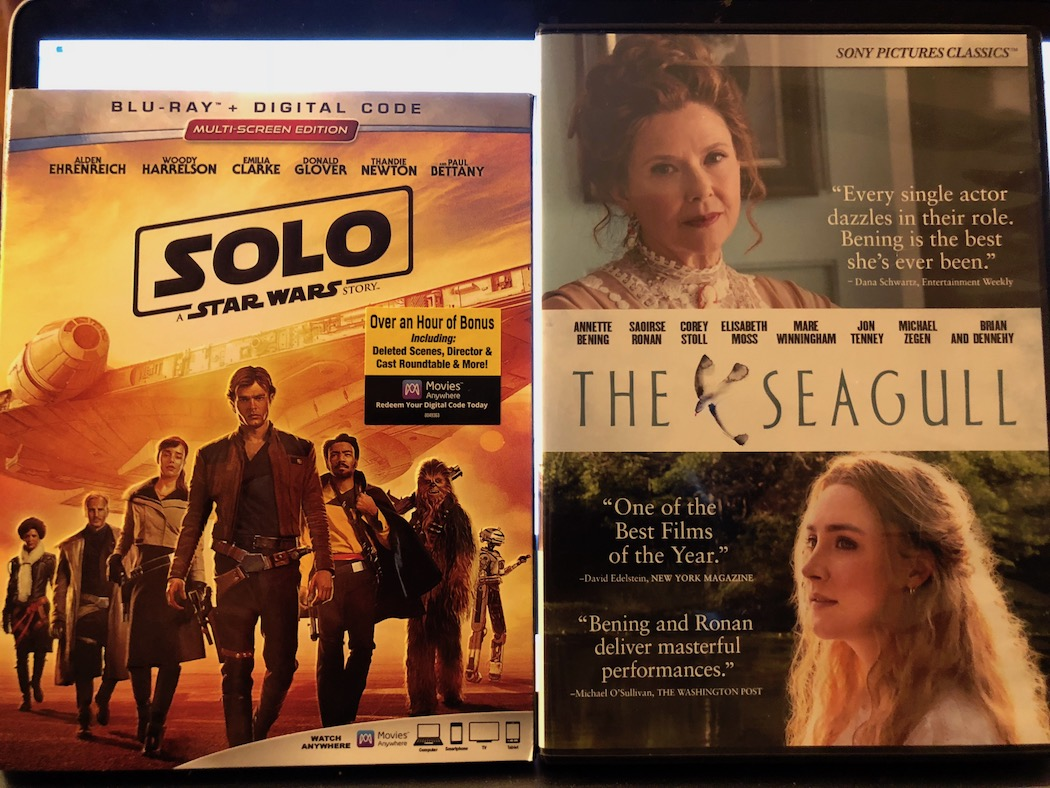 'Solo: A Star Wars Story' Blu-ray and 'The Seagull' DVD Giveaway from CinemAddicts!