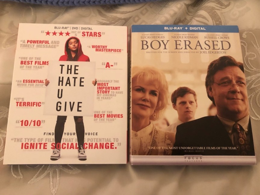 'The Hate U Give' and 'Boy Erased' Blu-Ray Giveaway From CinemAddicts