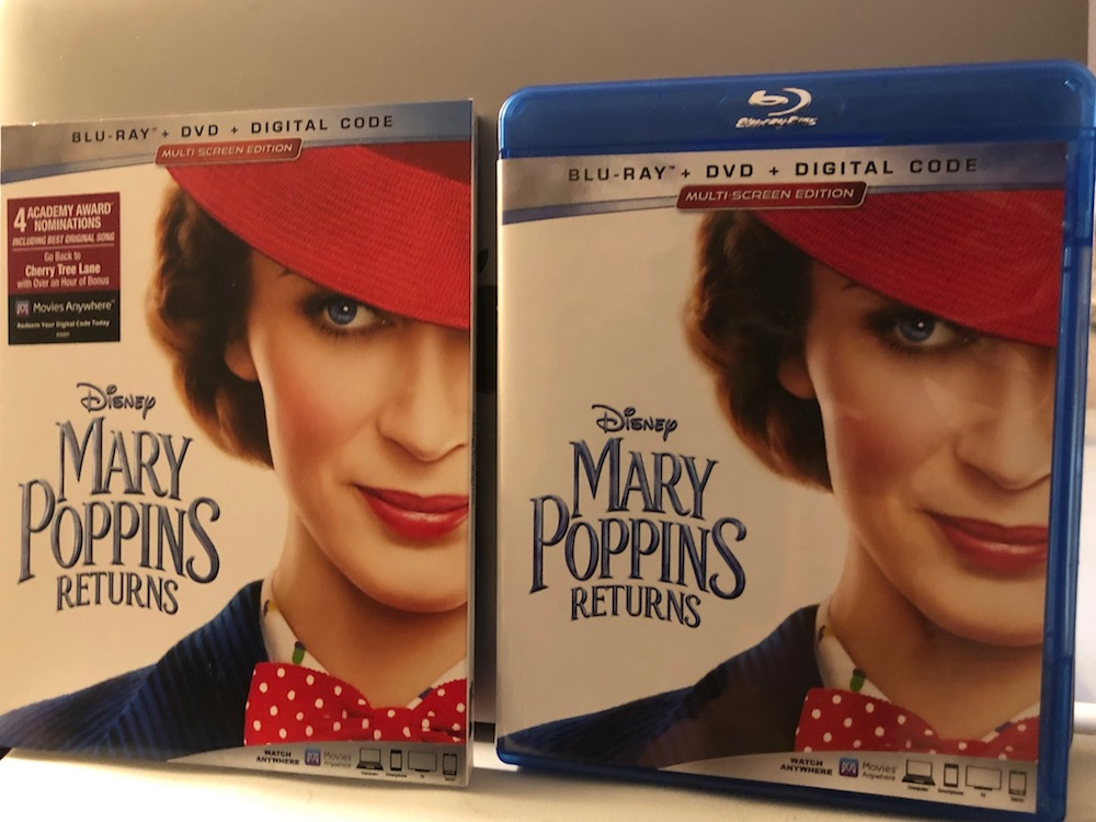 'Mary Poppins Returns' Blu-ray Giveaway From CinemAddicts!!