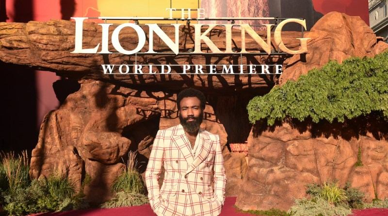 """Donald Glover Had A """"Once In A Lifetime"""" Experience With 'The Lion King' Production"""