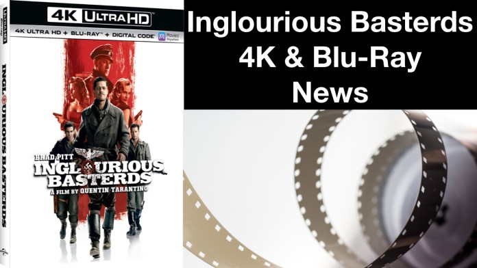 'Inglourious Basterds' Hits 4K, Blu-ray, And Digital In October